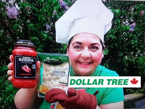 DOLLAR TREE WHAT'S FOR DINNER TONIGHT - Potato Gnocchi June 2019