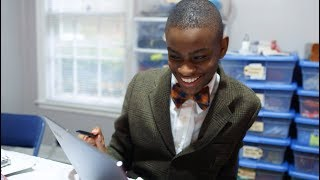 This 16-year-old CEO turned his creativity into a bow tie business. [Advertiser content from Intel]