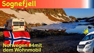 Norwegen Juni 2018 - Folge 4: Sognefjell