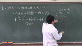 【化学】無機化学⑦(6of10)~フッ化水素と水素結合~
