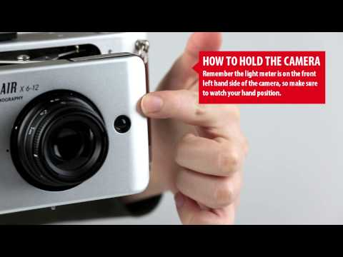Belair X 6-12 - How to Hold the Camera