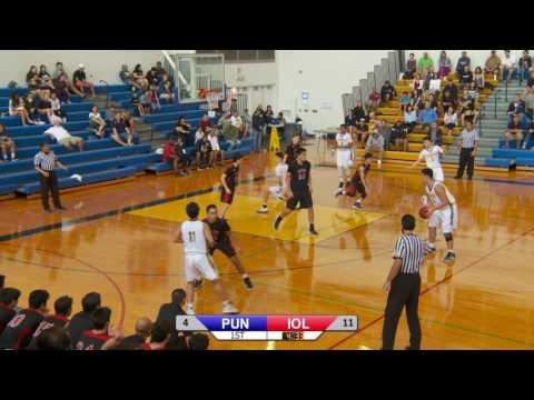 2016-2017 Boys Basketball - Punahou vs