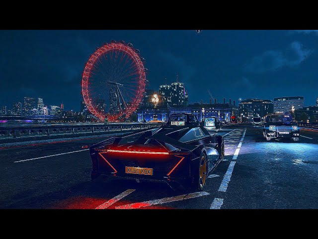 Watch Dogs Legion - Night Gameplay Free Roam London 4K 60FPS HDR + Ray Tracing