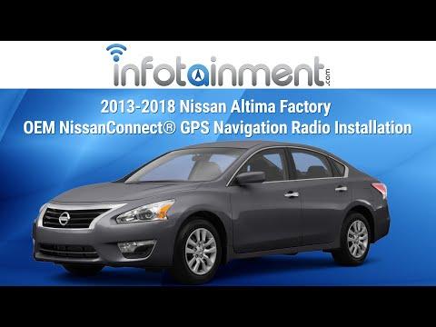 2013-2018 Nissan Altima Factory OEM NissanConnect® GPS Navigation Radio Installation