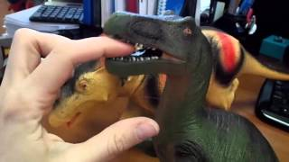 Динозавры. Обзор игрушек.