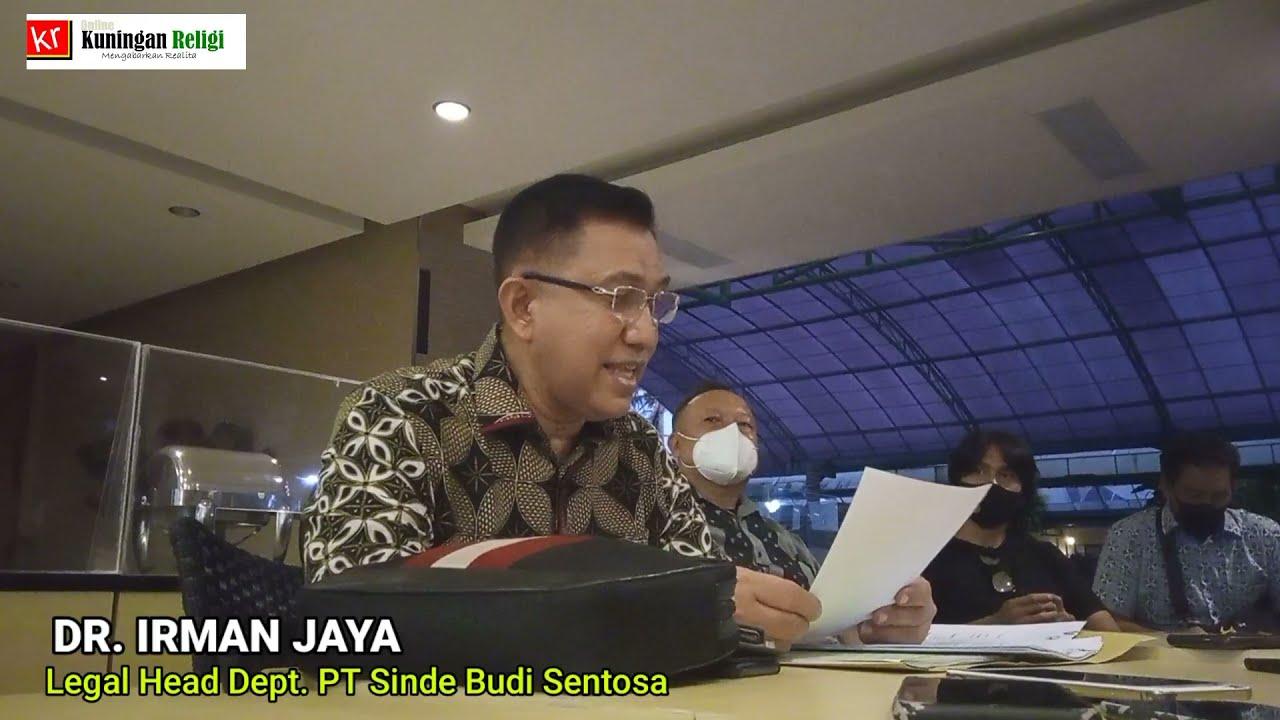 FULL - Penjelasan PT Sinde Budi Sentosa Soal Pengeboran Air Tanah di Kuningan Jawa Barat