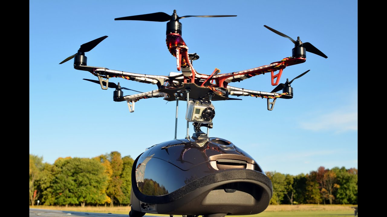 flying miele uniq s8 hexacopter vacuum on board go pro 2 hero youtube. Black Bedroom Furniture Sets. Home Design Ideas