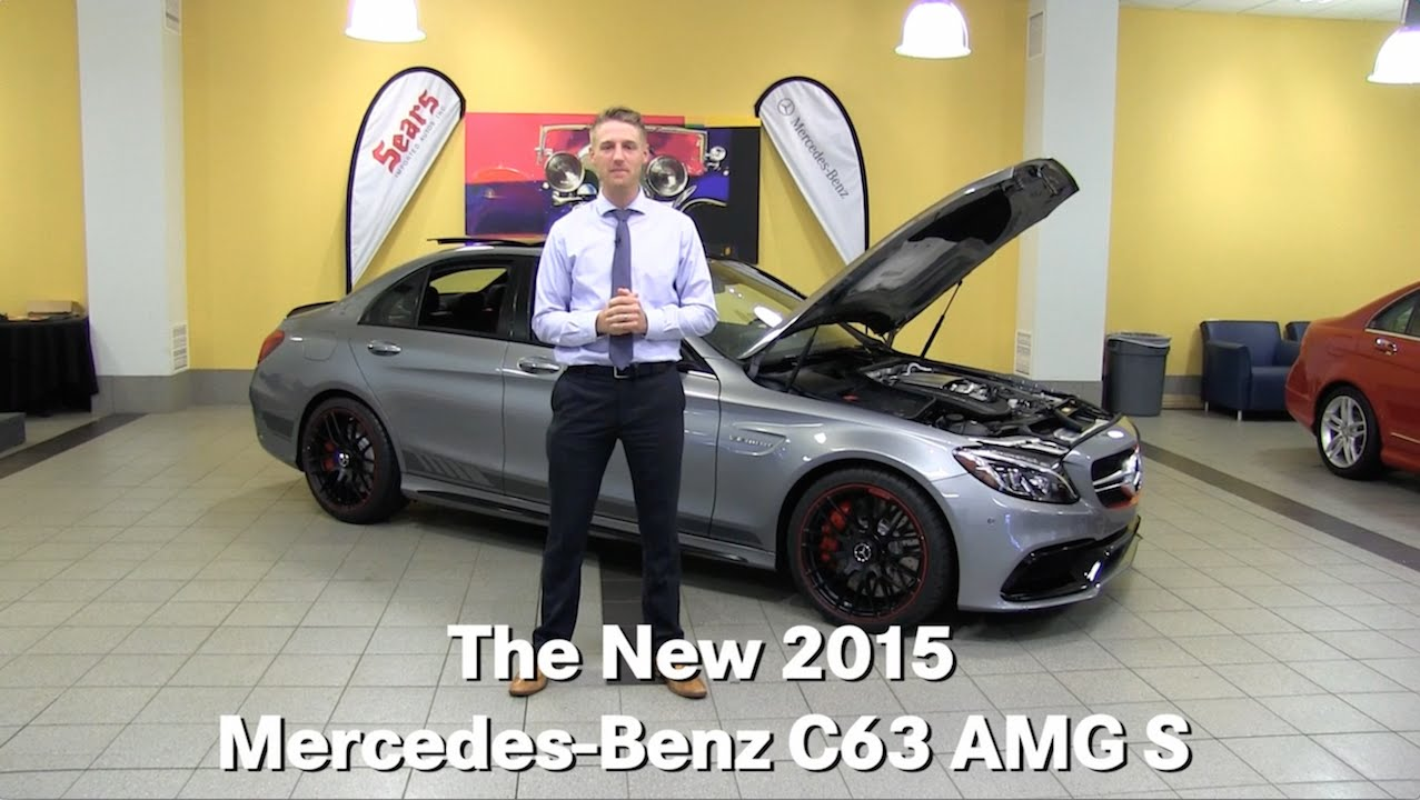 Review the new 2015 mercedes benz c63 amg s sedan for Mercedes benz bloomington mn