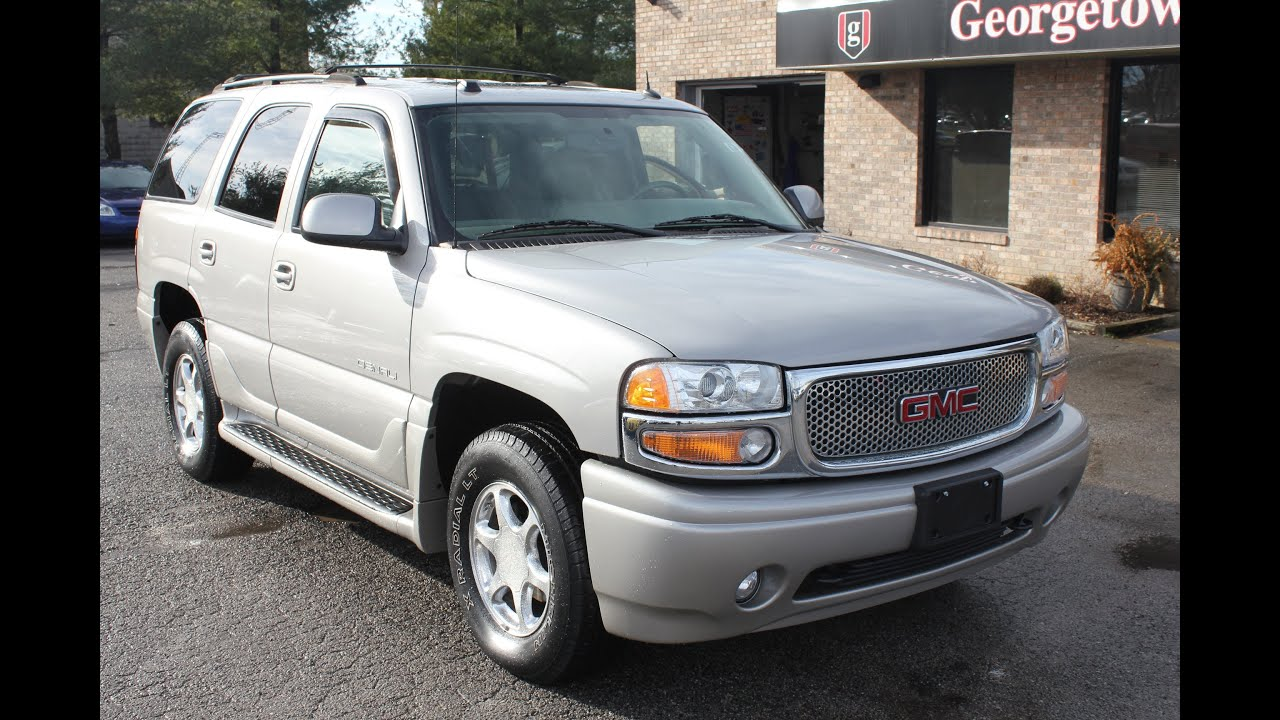 2005 Gmc Denali >> Used 2005 Gmc Yukon Denali Awd Silver For Sale Georgetown Auto Sales Kentucky Sold