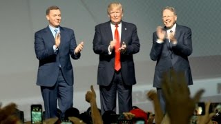 """Trump tells NRA the """"assault"""" on gun rights has ended"""