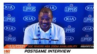 Doc Rivers Postgame Orlando Magic vs LA Clippers 7.22.20