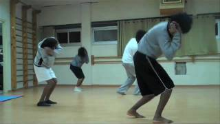 Excerpts from DNAWORKS rehearsals with Beta Dance Troupe