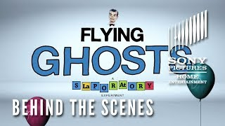 Goosebumps 2 - Behind the Scenes Clip - Flying Ghosts