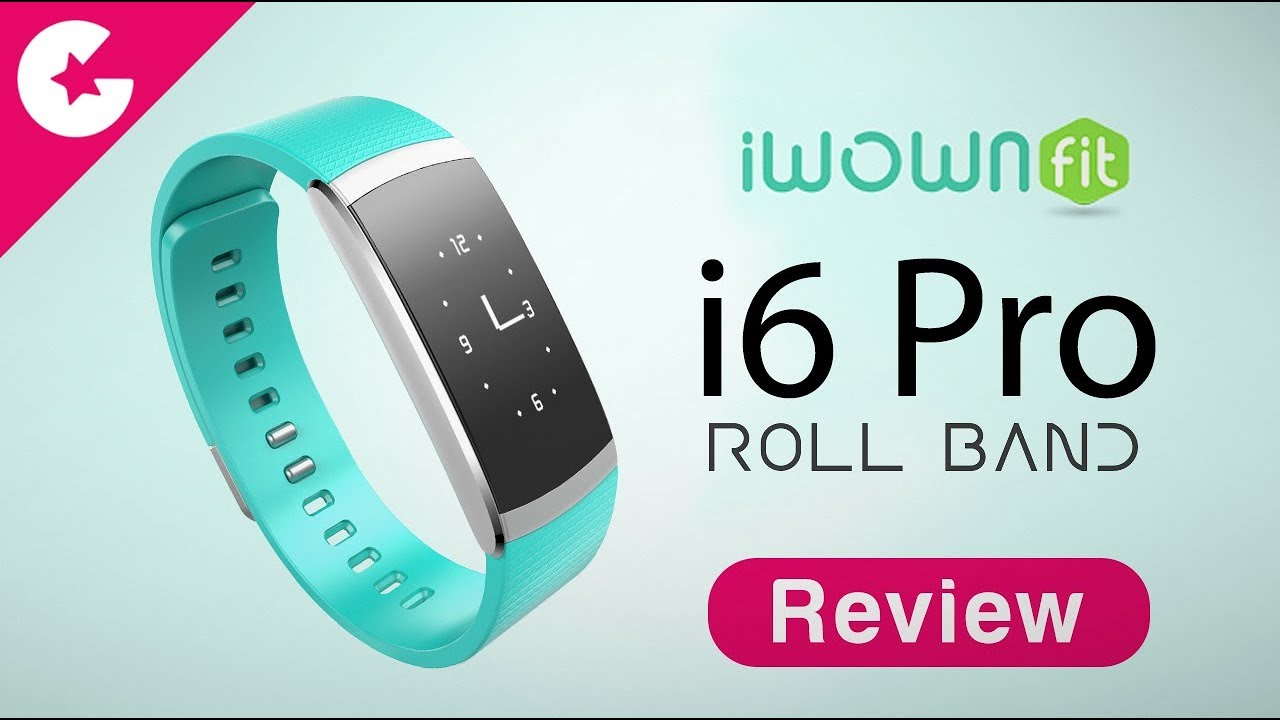 iWOWnFit i6 Pro Fitness Tracker Unboxing & Review - Best ...