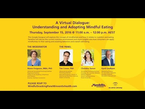 Well-Being: Virtual Dialogue on Mindful Eating Asia Pacific