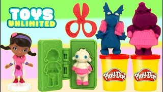 Play-doh Disney Doc McStuffins Clinic Set Mold with Friends Lambie