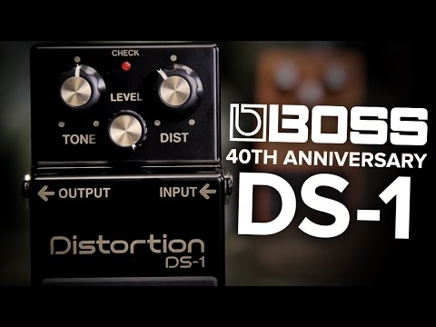 Strings Direct TV | BOSS DS1 40th Anniversary Limited Edition Distortion Pedal