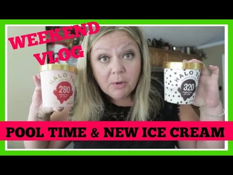 Weekend VLOG ~ POOL TIME + NEW ICE CREAM! | JULY 2017