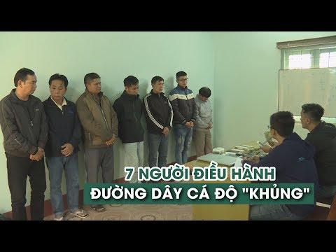 Lộ Diện 7 Nhân Vật đứng Sau đường Dây Cá độ Bóng đá Hơn 15 Tỉ đồng