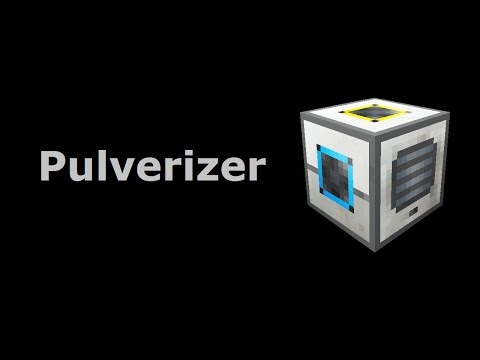 Pulverizer (Tekkit/Feed The Beast) - Minecraft In Minutes