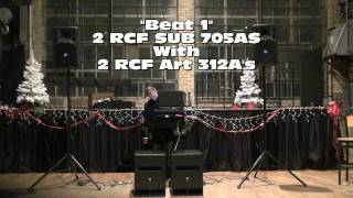 """BSR Looks At The """"RCF SUB 705AS"""" Active Subwoofer"""