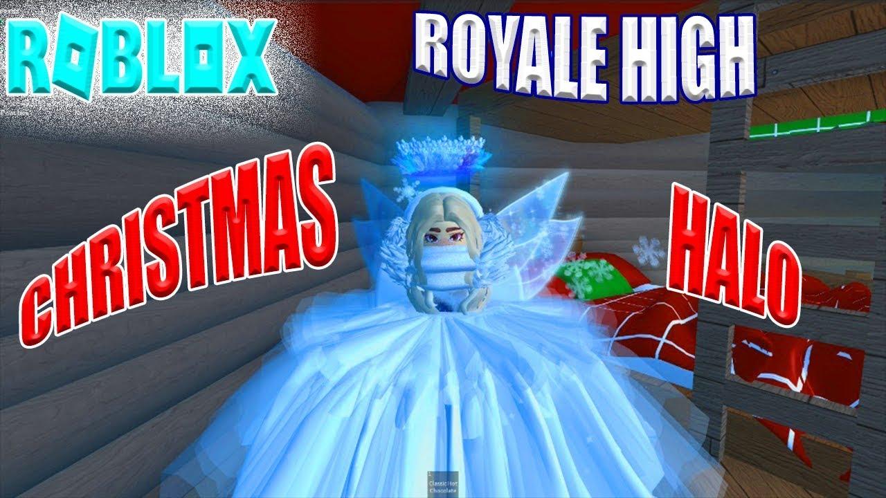 Roblox Royale High Omg I Got The Christmas Halo Walkthrough