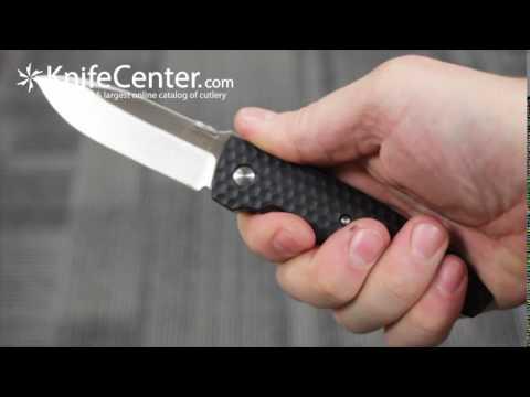 Columbia River 1220 Lucas Burnley Aux Folding Knife