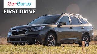 2020 Subaru Outback - CarGurus First Drive