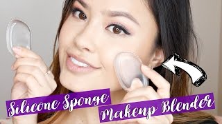 First Impressions | Silicone Sponge Makeup Blender Dupe Demo + Review! The Beauty Breakdown