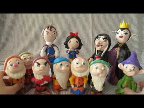 黏土#8[作品-白雪公主]Resin clay DIY life- Snow White and The Seven Dwarfs/白雪姫と七人の小人【狂想手創】27