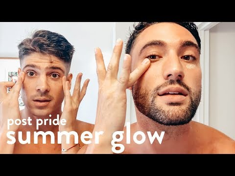 Post-pride, Summer Skincare Routine | BROCK + CHRIS
