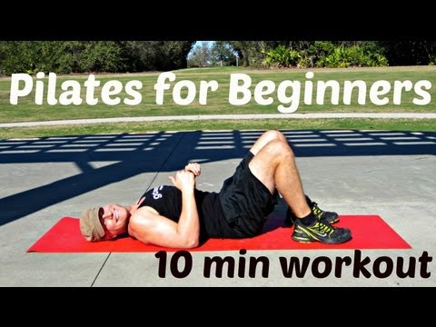 10 min Pilates for Total Beginners Workout Sean Vigue Fitness