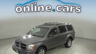 C98934RT Used 2006 Dodge Durango SUV Gray Test Drive, Review, For Sale