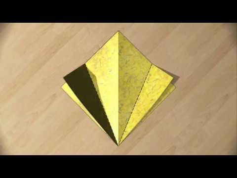 How To Make Origami Paper Toy: Japanese Origami Tutorial Video