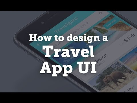 How to Design a Travel App: UI/UX Design Process/Workflow in Sketch