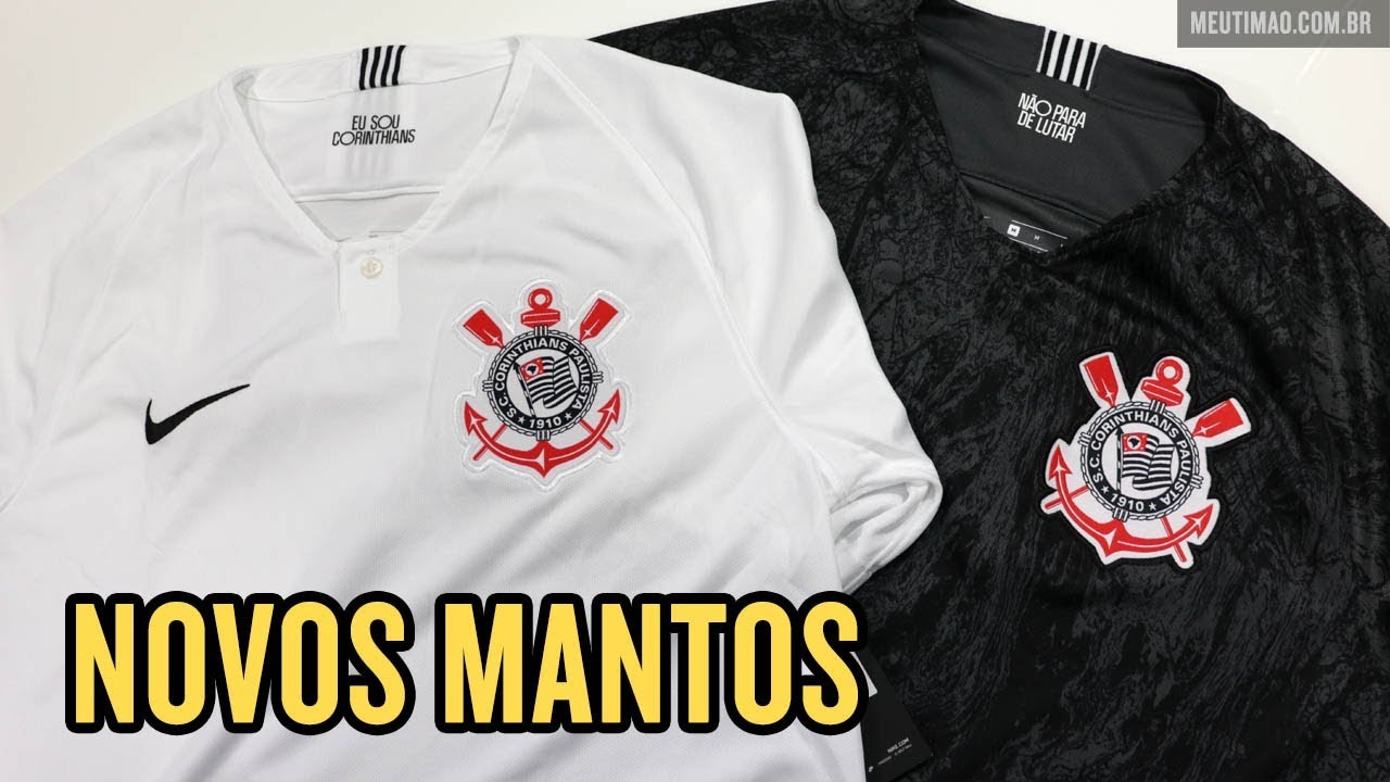 UNBOXING DAS NOVAS CAMISAS DO CORINTHIANS 2018 19 - YouTube 0140804744a10