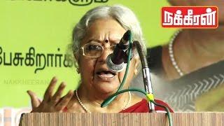 Jayalalitha's opponent candidate Vasanthi devi's Speech in RK Nagar