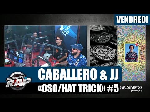 Youtube: Planète Rap – Caballero & JeanJass«OSO/Hat Trick» avec Senamo, Fukushima et Fred Musa #Vendredi