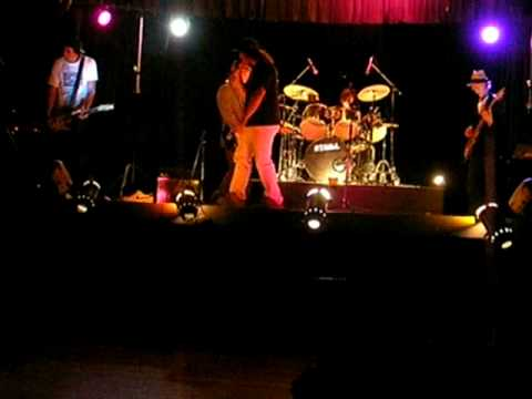 The KJ's - Off Shore.(original song) on stage