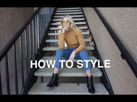 HOW TO STYLE HEELED BOOTIES | Breanna Crotty