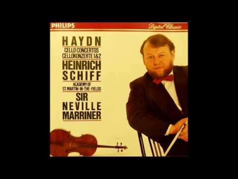 Joseph Haydn Cello Concerto in C major H.VIIb No.1, Heinrich Schiff