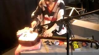 Prepared Shamisen -Tanaka Yumiko 三味線 Bachido workshop