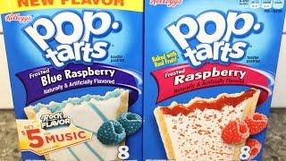 Blue Raspberry Pop Tarts Vs Raspberry Pop Tarts Blind Taste Test & Review