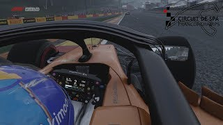F1 2018 - 5 Lap Race at SPA [Xbox One X]
