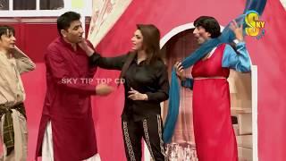 Sajan Abbas and Mahnoor Stage Drama Nasha Sajna Da Full Comedy Clip 2018