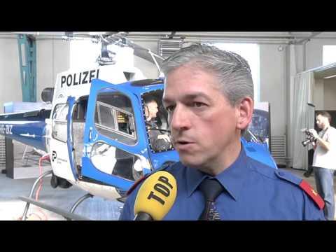 TELE TOP: Zürich Neuer Helikopter für die Kantonspolizei Zürich