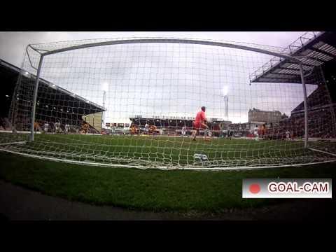 Goal-Cam: Bradford City v MK Dons - Hanson hits the bar!