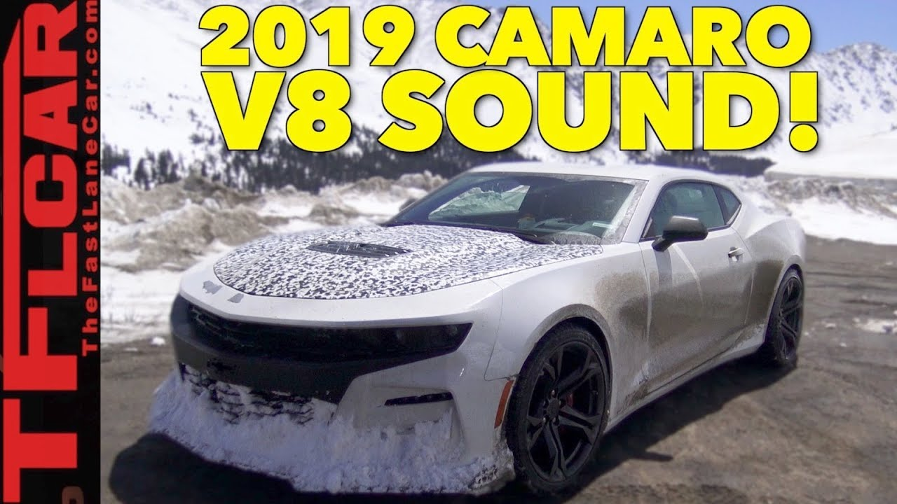 2019 chevy camaro ss 6 2l v8 exhaust sound caught in the wild youtube