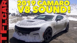 2019 Chevy Camaro SS 6.2L V8 Exhaust Sound Caught in the Wild