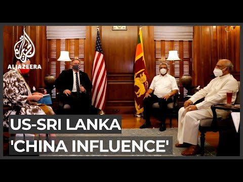 Pompeo slams 'predator' China on Sri Lanka trip